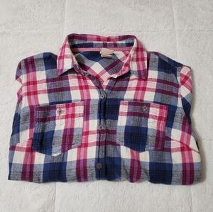 Womens flannel size small